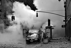 Steam pipe explosion, New York (noamgalai) Tags: nyc usa ny newyork news car photography photo lexington pipe explosion picture photojournalism boom cnn photograph blast explode noam   allrightsreserved 41 sitenews   photomania steampipe gazer  noamg  naom galai noamgalai   p1f1 naomgalai wwwnoamgalaicom