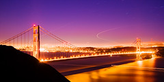 Summer Night (konaboy) Tags: sanfrancisco california longexposure bridge night goldengate ggb 53333