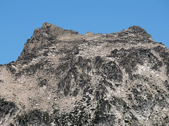 Close up shot of Colchuck Peak from the summit of Devils Head (Pt. 6666) 7.29.07.