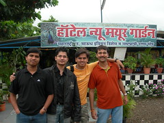 Day One, Stopping for breakfast... (rohan107us) Tags: 2007 bhandardara
