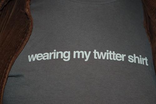 SFlickr August 07: Twitter Shirt