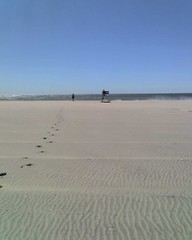 Far Rockaway.  Lonely beach