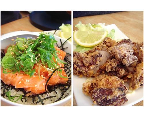 Salmon Don & Karaage
