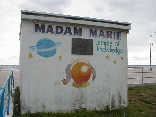 In Memoriam - Madam Marie - Asbury Park
