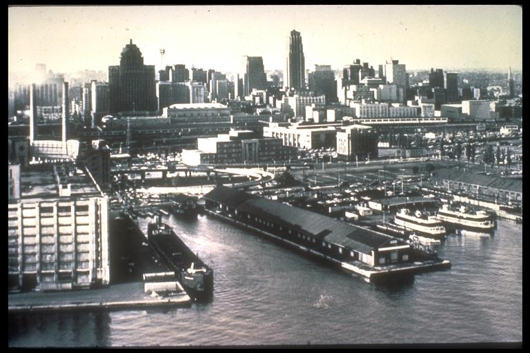 Toronto in the fifties