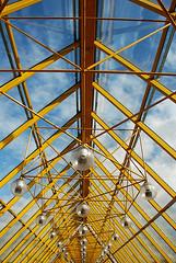 almost symmetry (march25/AnnaZ) Tags: bridge light sun colour art glass architecture nikon bra