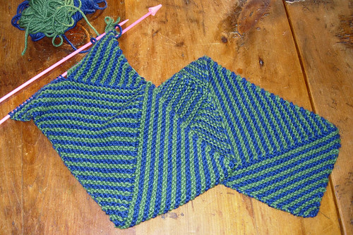 Multidirectional diagonal scarf 2