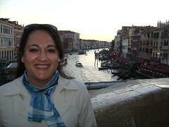 Me & the Grand Canal, Venice. (Food Philosophy) Tags: venice italy asiago altoadige speck chefmark foodphilosophy jenniferiannolo culinarypodcastnetwork gildedfork