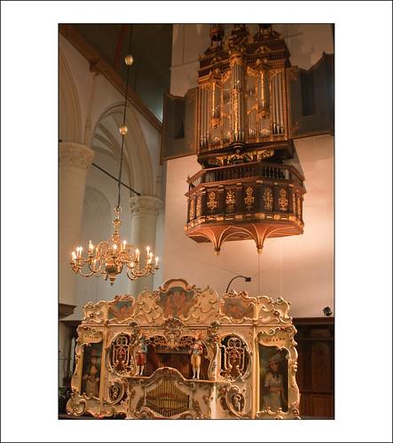draai- en kerkorgel