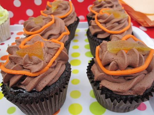 Vegan Jaffa Cake Cupcakes