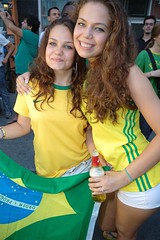 The Girls In Brazil Yellow! (austinhk) Tags: world africa blue girls brazil canada hot sexy cup brasil southafrica photo dance football bresil montral image quebec montreal fifa flag soccer south blueeyes crowd watching picture smiles curls images cte flags wm menschen tournament wc qubec babes shorts vs fans cheer worldcup brunette monde coupe crowds brunettes fever versus ctedivoire cotedivoire ivorycoast divoire coupedumonde tightshorts copadelmundo austinhk austink worldcupfans copamundo coupdumonde fifaworldcup2010 worldcup2010 coupedumonde2010 worldcup2010insouthafrica