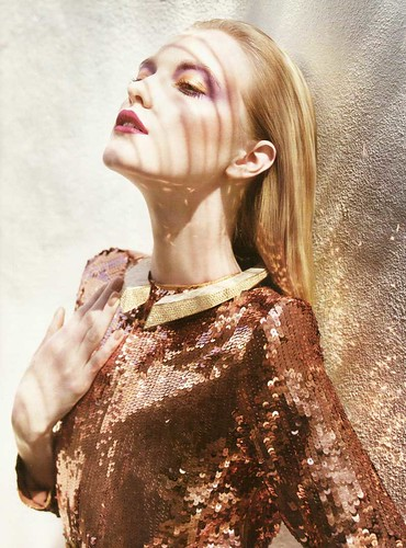 vlada bronze sequin jacket