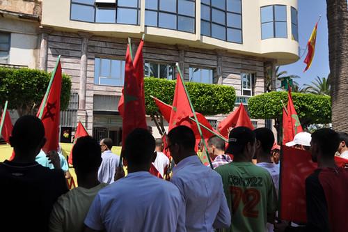 Protesta en Nador