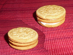 Double-decker Golden Oreo
