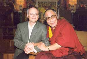 Arthur Zajonc and His Holiness the Dalai Lama