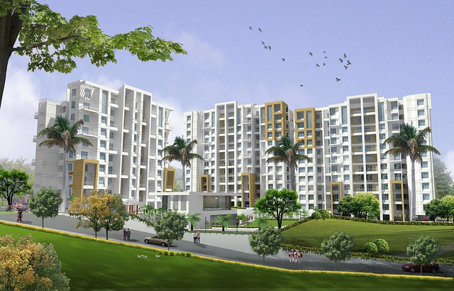 Nirman Viva Phase 2, 1 BHK & 2 BHK Flats at Ambegaon Budruk, Katraj, Pune 411 046 - Club House and D, E1 & E2 Buildings