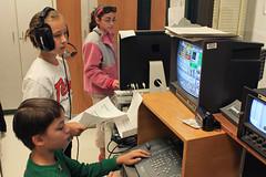 tv news for fifth graders (woodleywonderworks) Tags: school news broadcast tv education grade learn fifth img4180 schoolcast