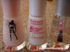 Bourjois, nail polish, french, DIY, beauty salon at home