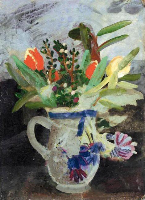 Nicholson, Winifred (1893-1981) - 1940s Flowers in a Jug (Sotheby's London, 2004)