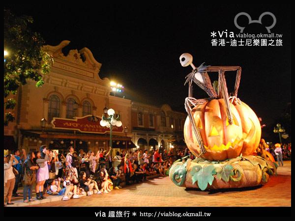 【香港旅遊】跟著via玩香港(2)~迪士尼萬聖節夜間遊行超精彩!6