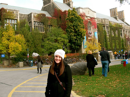 Eve at Hart House, University of Toronto