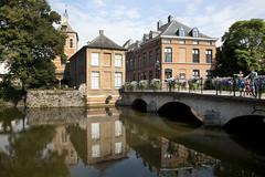 View at Nete river, Lier (c)Sofie Coreynen (VISITFLANDERS) Tags: heritage river europe belgium nete region lier flanders visitflanders