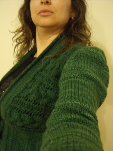 Owl Green Leitmotif Cardigan