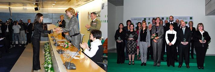 Laura Ponce de León Premio Investigación Imserso Infanta Cristina 2010