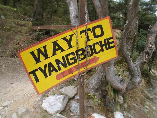 WaytoTyangboche