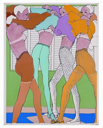 Antonio - Lingerie, Elle France, 1966