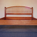 Cherry Bed with Spindle Headboard