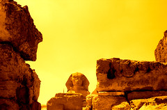 Sphinx. Egypt.- (ancama_99(toni)) Tags: africa old trip travel light vacation sky sculpture holiday color art nature monochrome yellow sphinx sepia architecture vintage geotagged photography gold photo interestingness interesting ancient nikon arte desert searchthebest pyramid esfinge photos egypt esculturas mosque photographic nile escultura explore amarillo cairo estatuas egyptian temples coolpix pyramids egipto coolest sculptures giza egitto egipte egypte groc 2007 oro 1000views afrique pharoh elcairo 5000views e2100 egyptien aljizah 25favs 25faves sungods aplusphoto isawyoufirst fotoguia ancama99 fiveflickrfavs interesantsimo nazlatassamman saariysqualitypictures