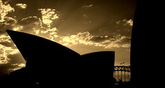 In sync (... Arjun) Tags: sunset bw 15fav panorama house water monochrome silhouette sepia clouds 1025fav 510fav bay nikon d70s sydney australia 2006 100v10f panoramic 1870mmf3545g 2550fav trendy nsw newsouthwales coathanger hip now popular toned adjusted tinted sydneyharbour happening familiar stylish sydneyoperahouse sydneyharbourbridge australasia alltherage bennelongpoint instep modish insync sydneytheatrecompany intune accustomed thecoathanger usedto bluelist voguish invogue operaaustralia sydneysymphonyorchestra operahousetrust newsouthwalesministryofthearts sydneycentralbusinessdistrict intheswingofthings onthesamewavelength