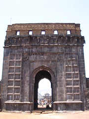Raigad fort - Entrance to King's Court