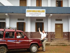 The Zion Bible College in Mallapolly, Kerala, India - long story, but it's a small world after all!