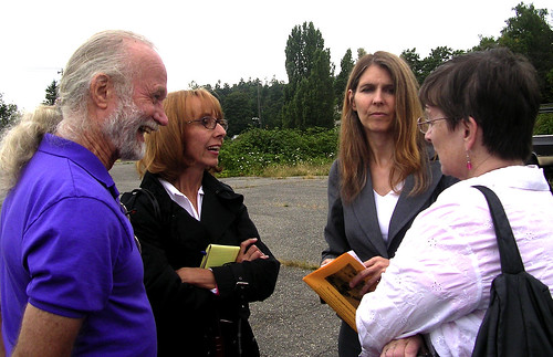 """Founder Of Burien's """"Drinking Liberally"""" & Community Activist Cherisse Luxa Passes Away 6"""