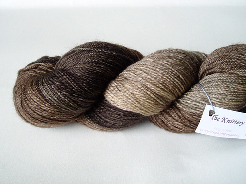 Knittery 4ply Fingering in chocolate