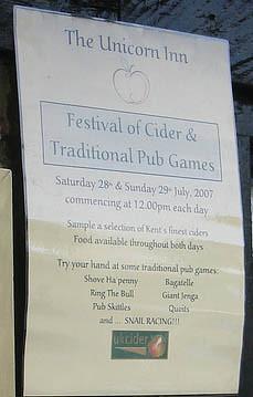 Kent cider festival