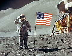 Apollo 11 Moon Landing Salute