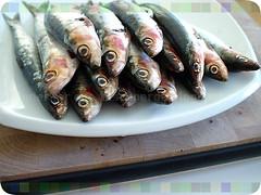 würzig marinierte sardinen