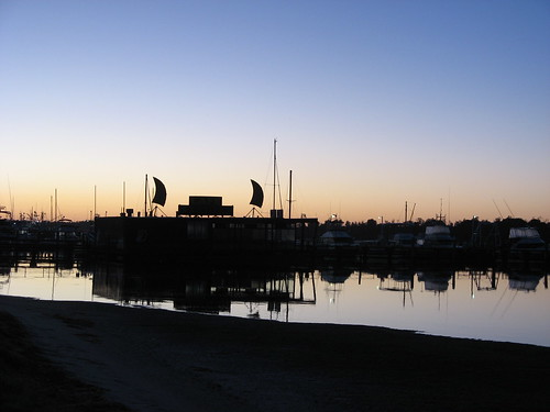 Dawn over Lakes Entrance