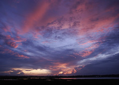 371_7186 (naturesviews) Tags: sunset sky sun clouds skies sunsets skyshow settingsun murrellsinlet wondersofnature godspaintings skypaintings