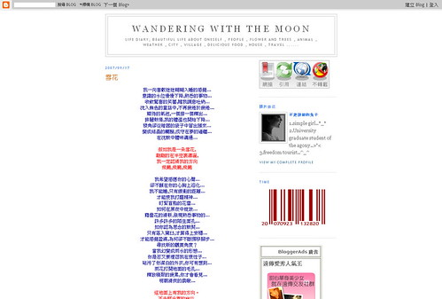 Wandering With The Moon