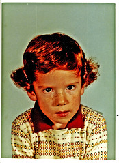 The Cowlick-o Kid (hunter..) Tags: boy red hair ginger kid redhead cousin schoolphoto redheads