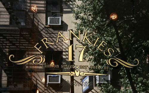 Frankies Spuntino on Clinton Street