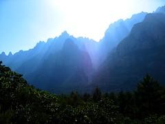 Page Escalade en Corse