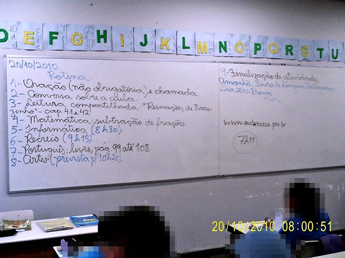 Rotina Prevista (20/10/2010) - acrescentou-se um capitulo na leitura