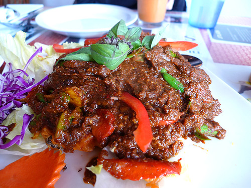 Jitlada's Dynamite (*SPICIEST ON MENU) Softshell Crab