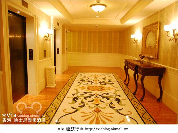 【香港住宿】跟著via玩香港(4)~迪士尼樂園酒店(外觀、房間篇)26