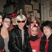 "Mari Meyer (Dita Von Teese), a ""bruised"" Marissa Bea, David Jordan (Deadpool), Julian Stockdale (Andy Warhol) Mystie ""Mouse"" Chamberlin (Minnie Mouse) and Billie Jo Sheehan (Billie Joe Armstrong)"